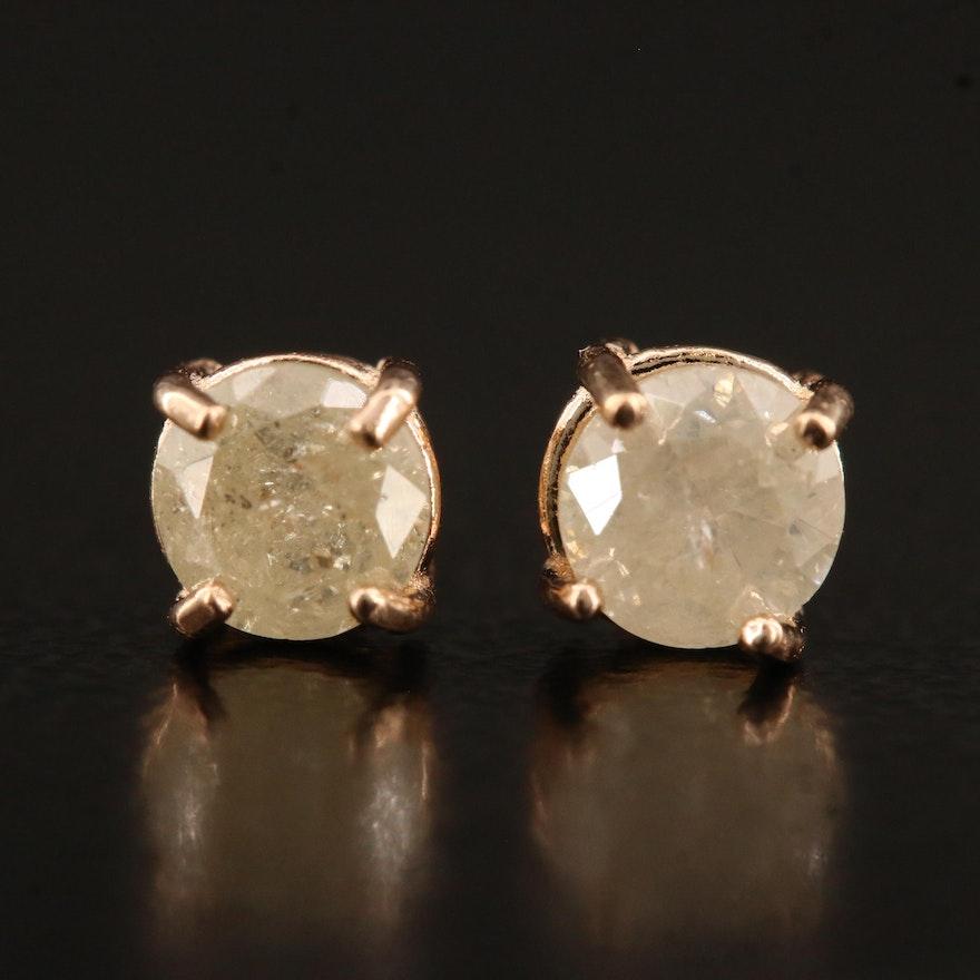 14K 0.55 CTW Diamond Stud Earrings