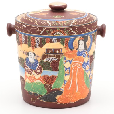 Japanese Ceramic Bucket