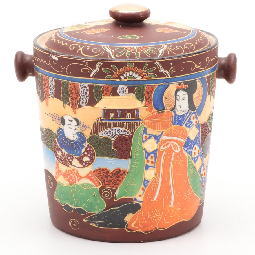 Japanese Ceramic Bucket