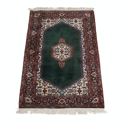 3' x 5'8 Hand-Knotted Indian Wool Rug