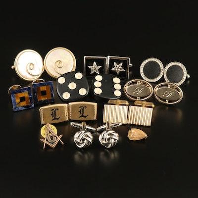 Vintage Cufflink Selection