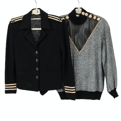 St. John Collection by Marie Gray Sweater and Jacket