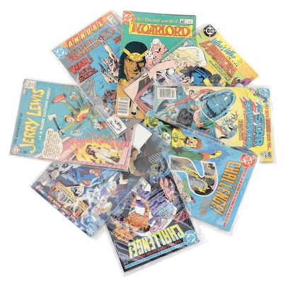 """""""The Adventures of Jerry Lewis,"""" """"Challenge,"""" """"The Warlord,"""" Other DC Comics"""