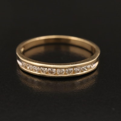 10K Diamond Band