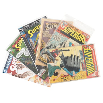 """""""Supergirl"""" #1 and Other """"Supergirl"""" and """"Superwoman"""" Comics"""