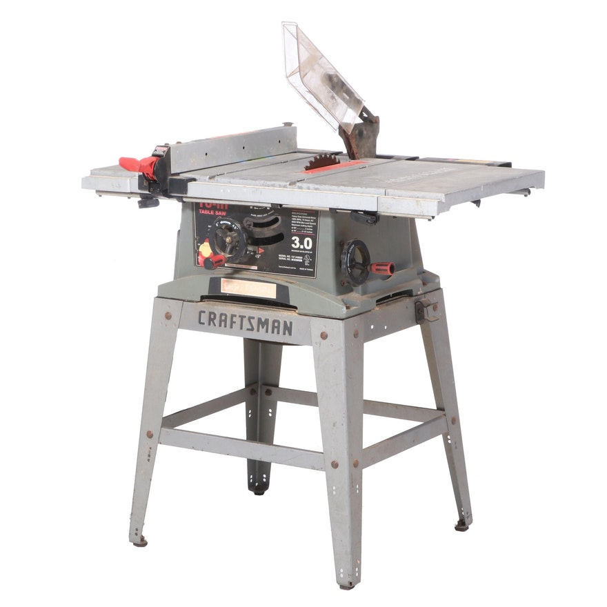 Craftsman for Sears, Roebuck and Co. 10 Inch Table Saw
