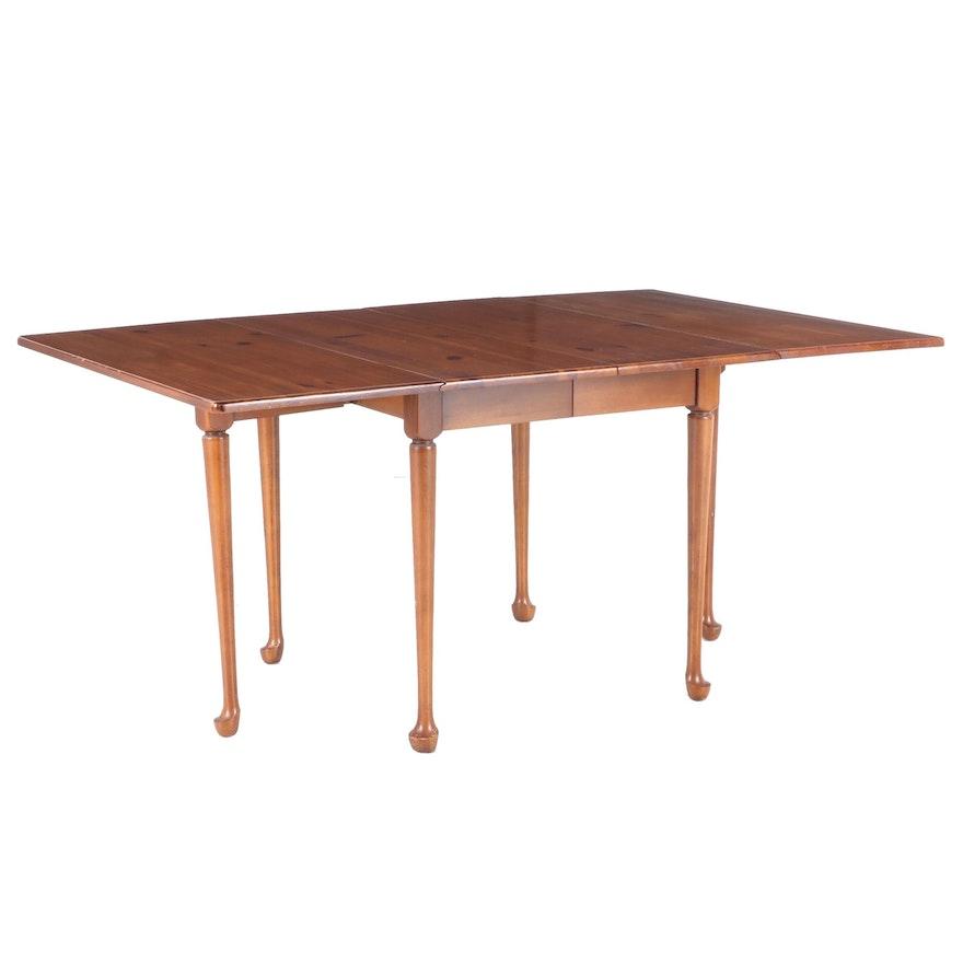 "Link-Taylor ""Pilgrim Pine""  Drop Leaf Dining Table, Mid 20th Century"