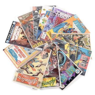 """""""Wonder Woman,"""" """"Teen Titans,"""" """"Batman,"""" and """"Adventure Comics"""""""