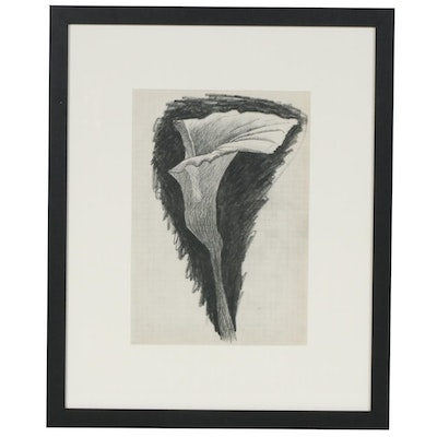 """Georges Braque Lithograph for """"Verve,"""" 1955"""