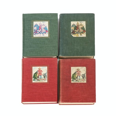 "Illustrated ""Grimms' Fairy Tales"" and ""Andersen's Fairy Tales"" Special Editions"