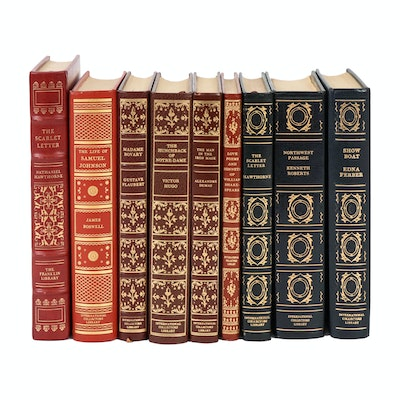 "Franklin Library Leather Bound ""The Scarlet Letter"" with Other Literary Classics"