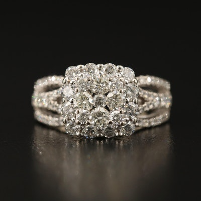 14K 1.54 CTW Diamond Ring
