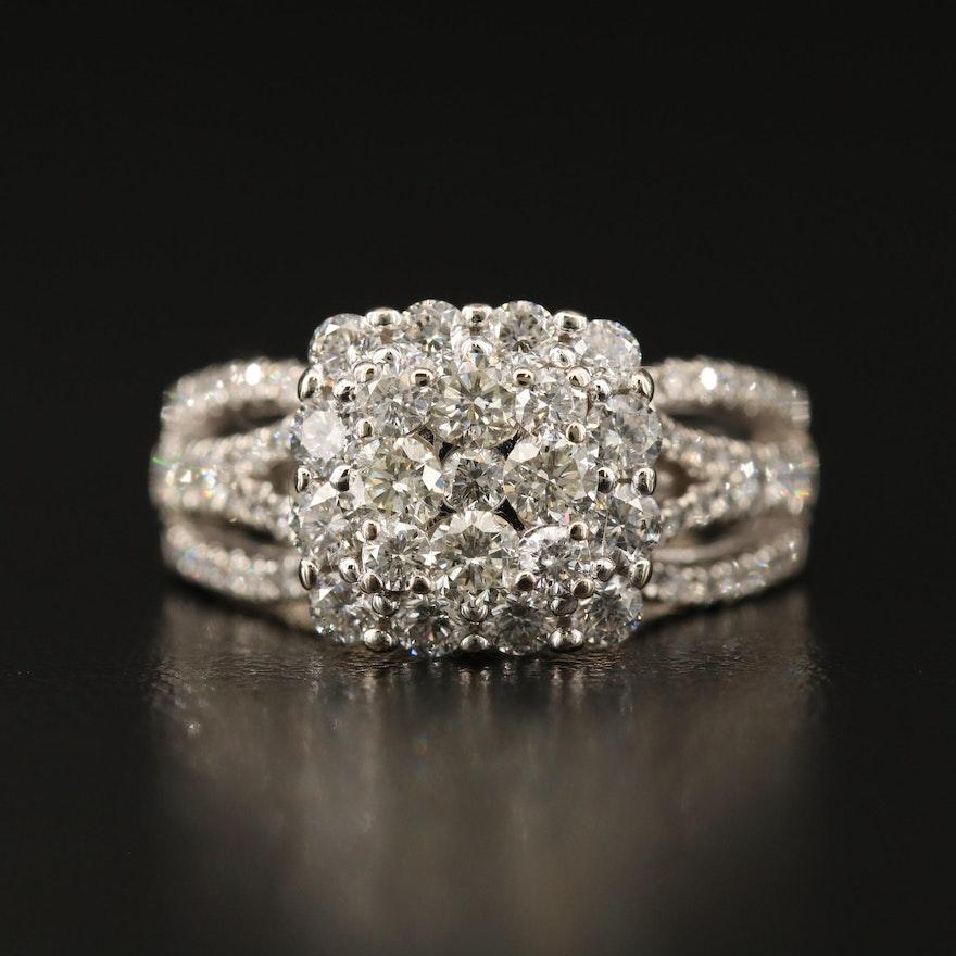 14K 1.54 CTW Diamond Ring