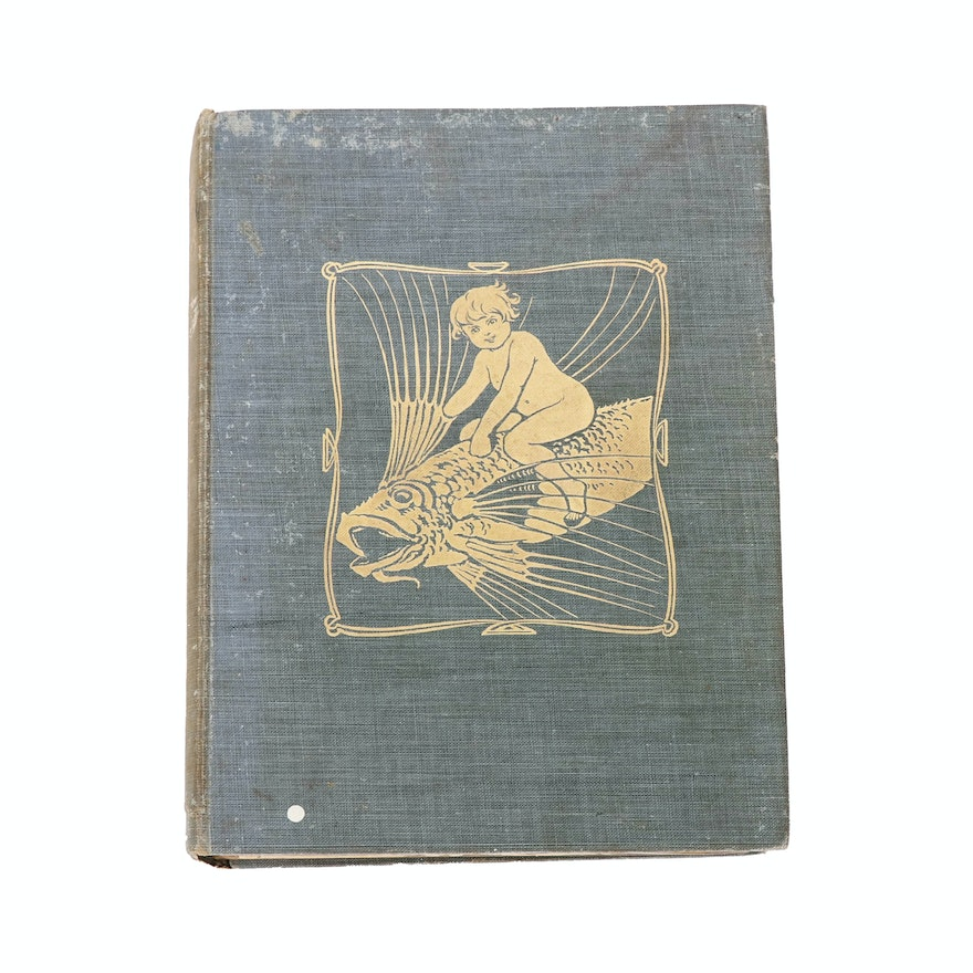 """First Goble Illustrated Edition """"The Water Babies"""" by Charles Kingsley, 1909"""