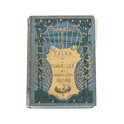 """""""Tales of a Traveler"""" by Washington Irving, 1895"""