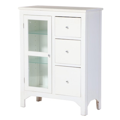 Contemporary Painted Three-Drawer Cabinet