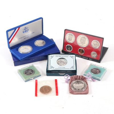 Commemorative Coins and Medals Including a Silver Cincinnati Bicentennial Medal