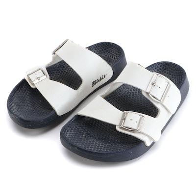 Unisex Birkenstock Birki's White Sandals