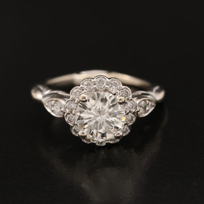 14K 1.47 CTW Diamond Ring