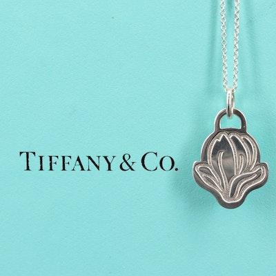 "2019 Tiffany & Co.""GO WOMEN"" Commemorative Sterling Silver Necklace"