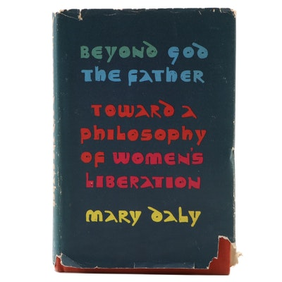 "Signed First Edition ""Beyond God the Father"" by Mary Daly, 1973"