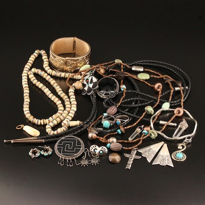 Southwestern Style Jewelry Selection Featuring Zuni, Silpada and Crumrine