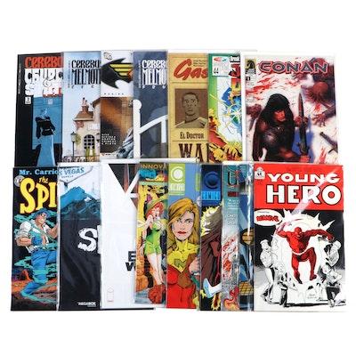 """Cerebus Melmoth,"" ""The Spirit,"" ""Conan,"" and Other Comics"