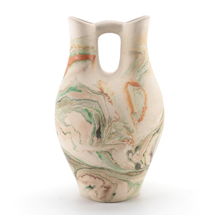Nemadji Nolan Pottery Wedding Vase