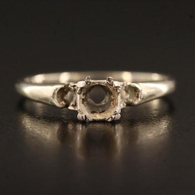 Vintage 14K Ring Mounting