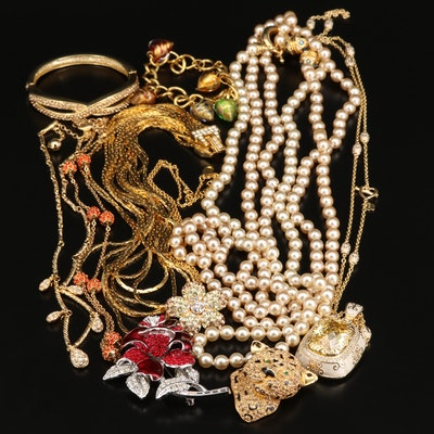 Selection of Jewelry Featuring Nolan Miller and Jackie Orr