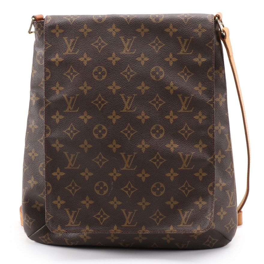 Louis Vuitton Musette Shoulder Bag in Monogram Canvas and Vachetta Leather
