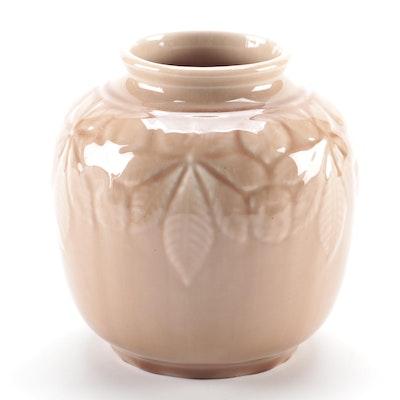 Rookwood Pottery Wine Madder Glaze Vase, 1946