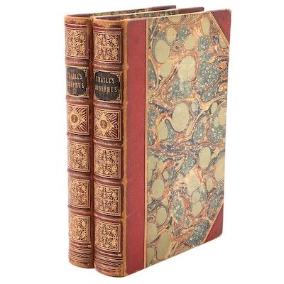 "Illustrated ""The Jewish War of Flavius Josephus"" Two-Volume Set, 1851"