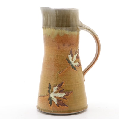 Travis Berning for Tree House Pottery Wheel Thrown Ceramic Pitcher