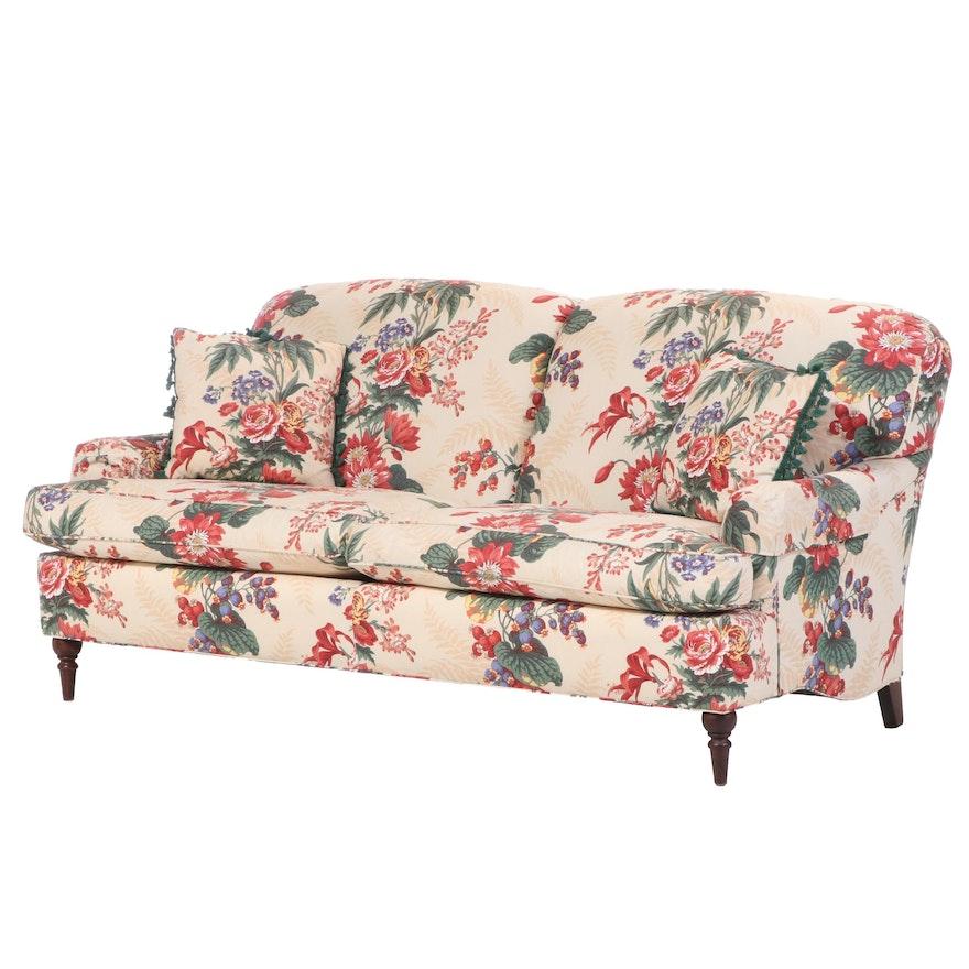 """Brunschwig & Fils """"Saratoga Collection"""" Floral """"Sagamore"""" Sofa"""