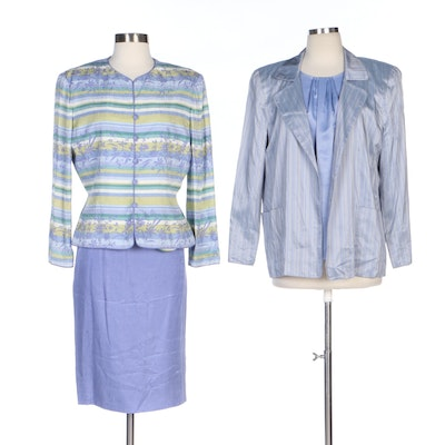Carol Trotta Skirt Suit with Ellen Tracy and Kasper Seperates