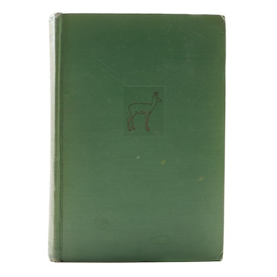 "First American Printing ""Bambi: A Life in the Woods"" by Felix Salten, 1928"
