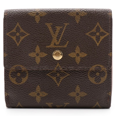 Louis Vuitton Wallet in Monogram Canvas