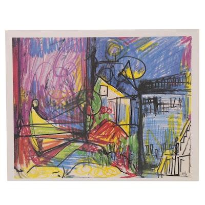 Offset Lithograph after Hans Hofmann, 21st Century
