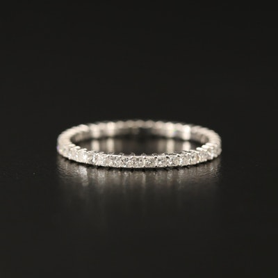 18K Diamond Eternity Band