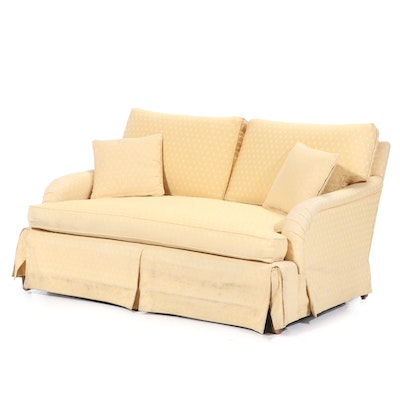 Custom-Upholstered Loveseat