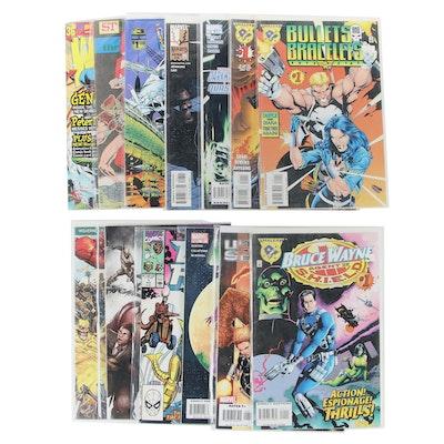 """Amalgam"" Comics, ""Brute Force,"" ""Marvel Vision,"" and Other Comics"