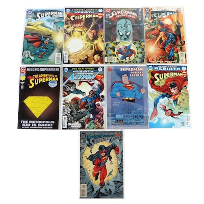 """""""Superman"""" Comics Including """"Superman 2999,"""" """"Year One,"""" and Others"""
