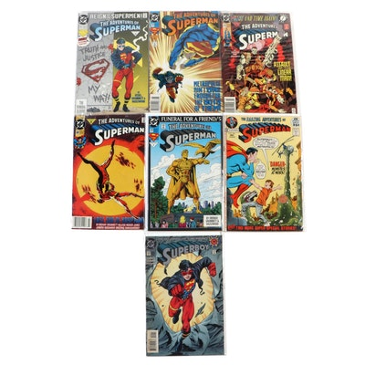 """""""The Adventures of Superman"""" and """"Superboy"""" Comics"""