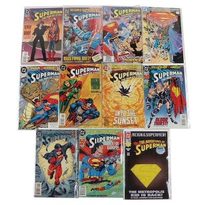 """Superman: Man of Steel"" and ""Superboy"" Comics"