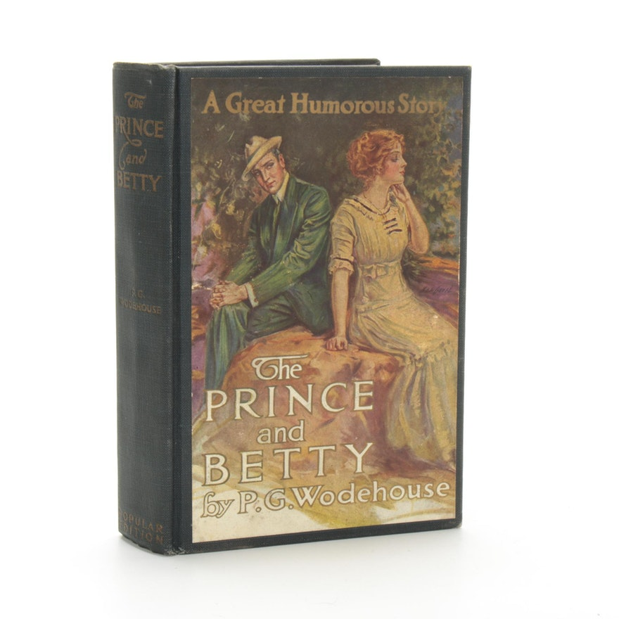 "Illustrated ""The Prince and Betty"" by P. G. Wodehouse, 1912"