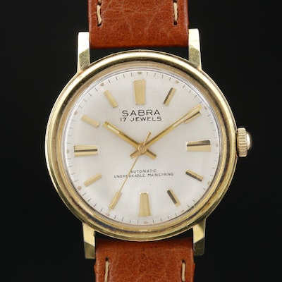 1960's Sabra Automatic Wristwatch