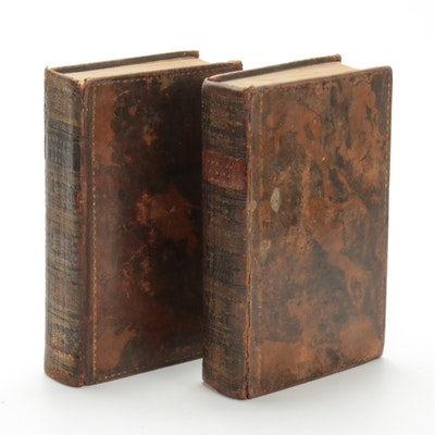"""Real Life in London"" Two-Volume Set by John Badcock and Pierce Egan, 1823"