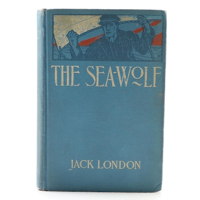 "Early Printing ""The Sea-Wolf"" by Jack London, 1904"