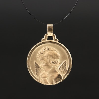 10K Angel Pendant